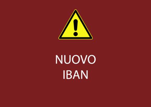 Comunicazione nuovo IBAN